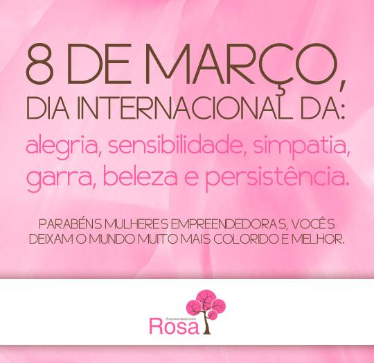 Homenagem Do Empreendedorismo Rosa