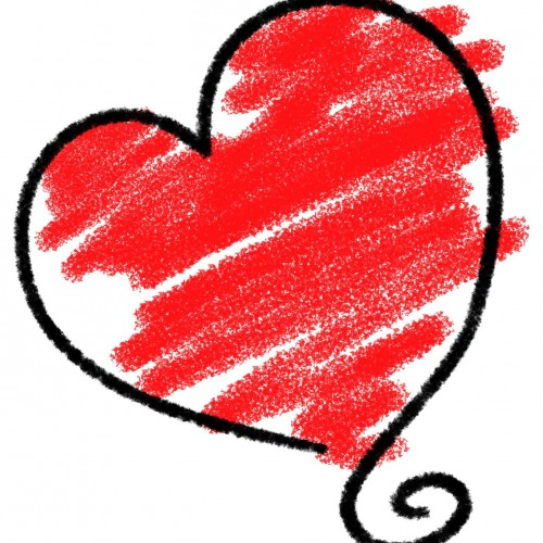 sketched-heart