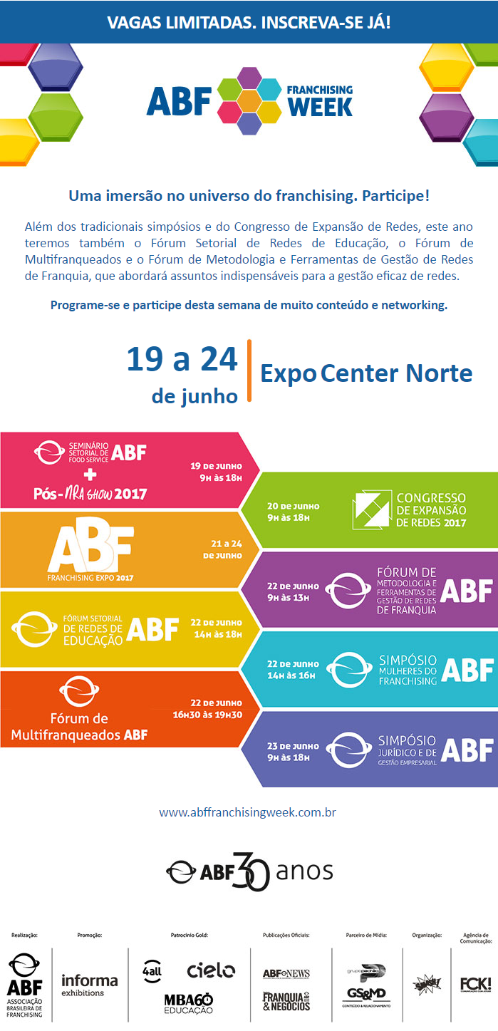ABF Franchising Week ABF   Participe